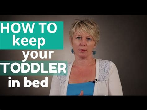 how to keep your toddler in bed keeping your toddler in bed видео на запорожском портале