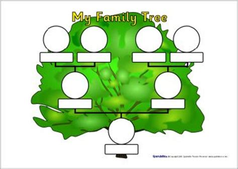 preschool family tree template 53 best images about family family tree on