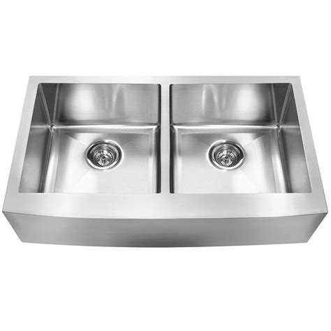 Stainless Steel Farm Sinks For Kitchens Frankeusa Farmhouse Undermount Stainless Steel 33x19x9 0 18 Bowl Kitchen Sink
