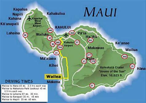 printable road map maui hawaii maui wailea ekahi maps resort info activities wailea