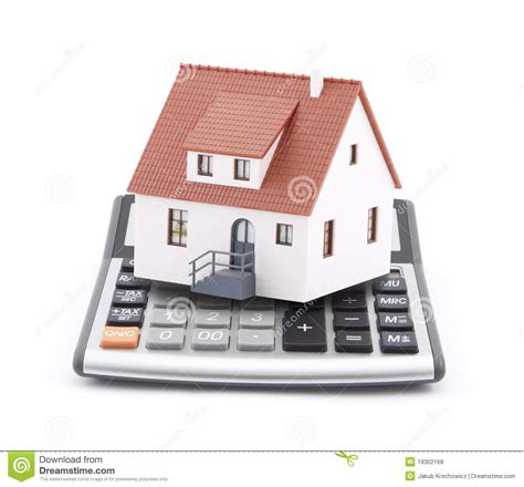 house mortgage calculation mortgage calculator royalty free stock photos image 19302168