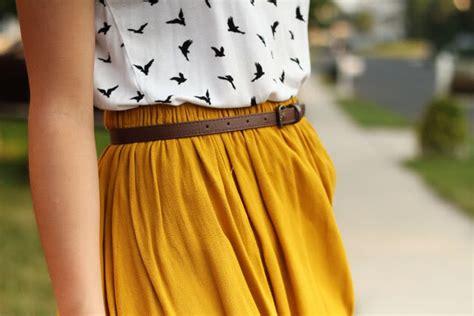 mustard color skirt mustard skirt vezilka