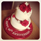 Ruby wedding cake decorations   idea in 2017   Bella wedding