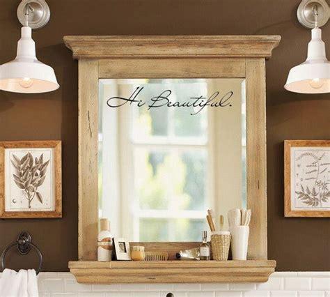mirror stickers bathroom hi beautiful ispirational vinyl mirror decal sticker