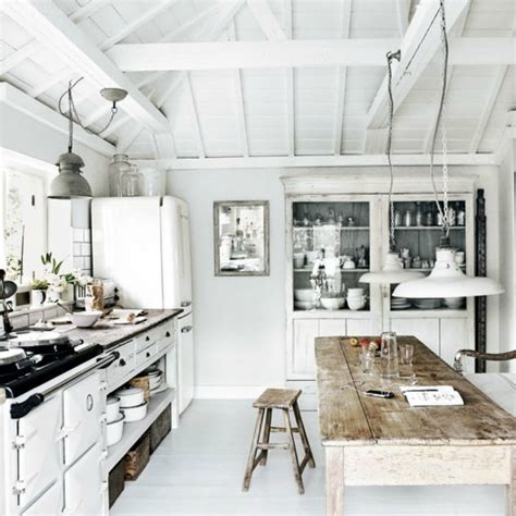 White Coastal Kitchen - coastal home inspirations on the horizon rustic coastal