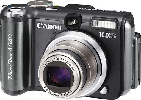 Kamera Canon A630 canon stellt neue powershot modelle a630 a640 und a710 is vor digitalkamera de meldung