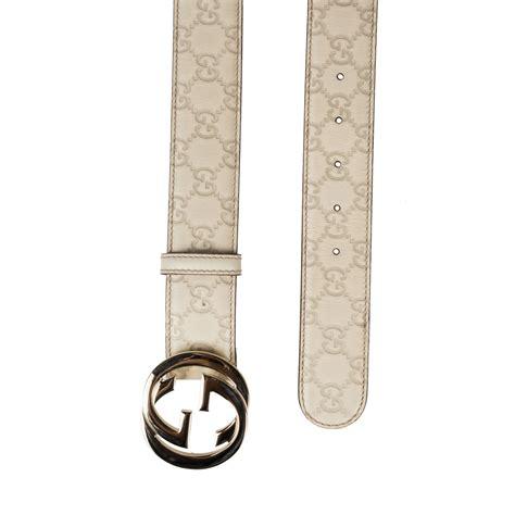 Jual Belt Gucci Guccisima Belt G Buckle With Web Mirror Quality 10 gucci guccissima unisex belt interlocking g buckle