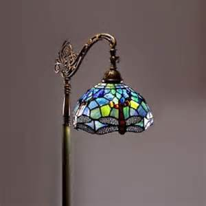 stained glass light  reading floor lamp stained glass light art deco new floor lamps