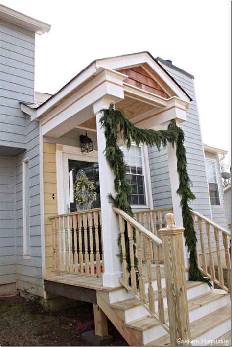 how to add curb appeal with a portico four generations one roof 42 diy ideas to increase curb appeal