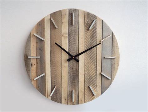 Wood Clock by 25 Best Ideas About Rustic Wall Clocks On Pinterest