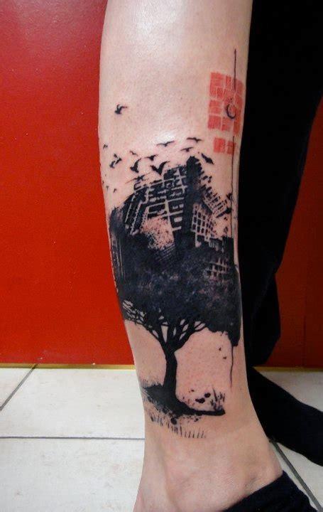 side tattoos tumblr needles side on