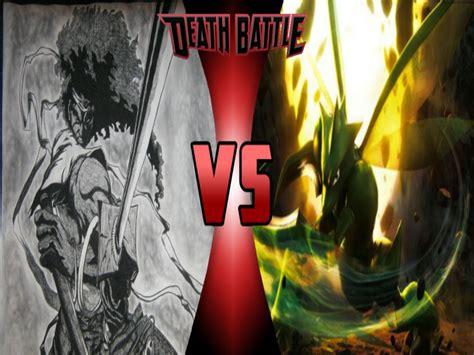 afro samurai battle afro samurai vs scyther battle by 6tails6 on deviantart