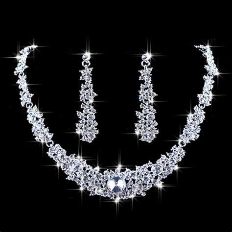 Rhinestone Choker buy rhinestone choker necklace earrings bridal