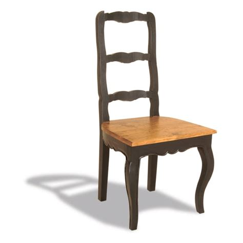 Black Ladder Back Dining Chairs Signature Chic Ladder Back Dining Chair Antique Black Furniture123