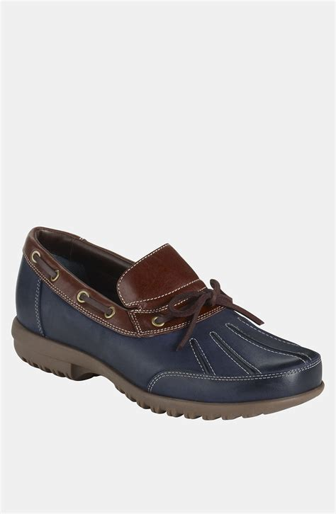 cole haan boat shoes cole haan air rhone c boat shoe in blue for men navy