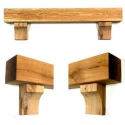 Mantel Shelf With Corbels Rustic Arched Corbel Oak Beam Mantel Shelf Wedding Arch