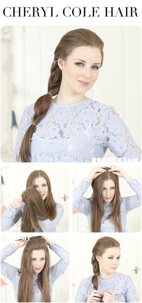 easy everyday hairstyles tutorial 10 ways to make cute everyday hairstyles long hair