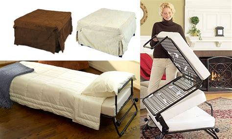 fold out ottoman bed costco fold out ottoman bed sleeper ottoman with memory foam