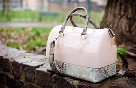Furla Faux Snake Venere Bow Bag by Bag By Furla Bow Of Moon
