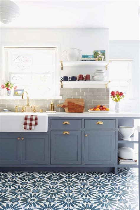 Lovely Duck Egg Blue Kitchen Wall Tiles   GL Kitchen Design
