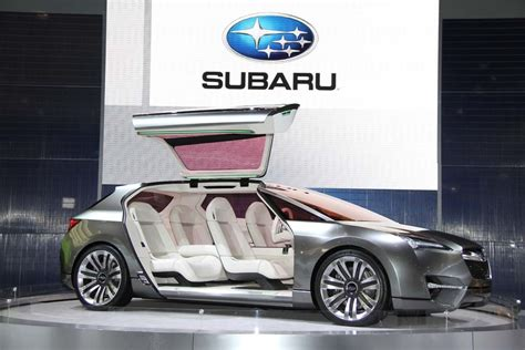 subaru concept vehicles subaru could offer in hybrid by 2018 all electric