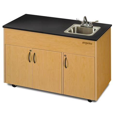 portable sinks with and cold water advantage series portable water sinks