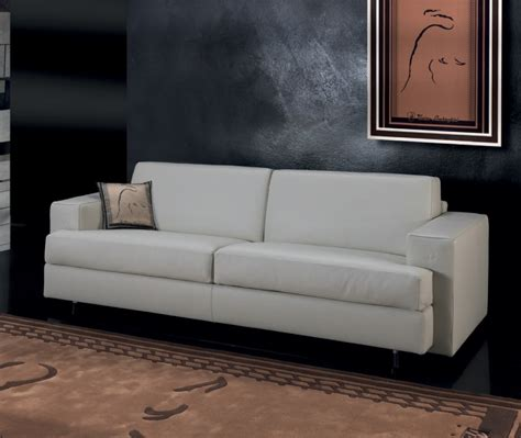 triple sofa bed triple sofa bed in tl730 leather upholstery formitalia