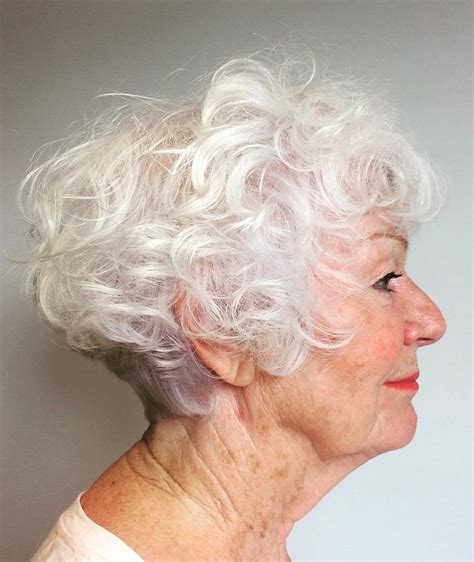 very curly hairstyles for over 60 60 gorgeous hairstyles for gray hair