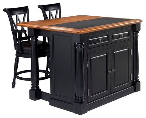 home styles monarch slide out leg kitchen island with home styles monarch roll out leg kitchen island set in