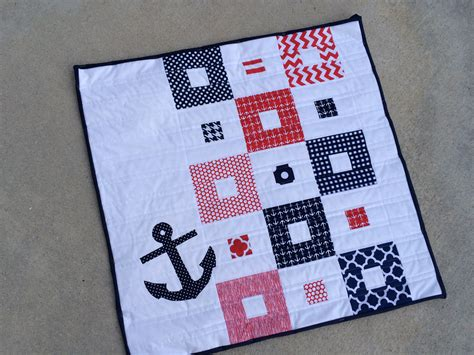 quilt pattern anchor nautical mini quilt pattern giveaway