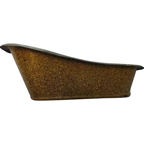galvanized bathtubs vintage miniature galvanized tub sold on ruby lane