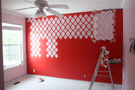 wall paint templates wall stencil tutorial honest to nod