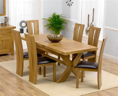 Dining Room Table Sets For 6 by Remarkable Extending Dining Table And 6 Chairs Solid Oak