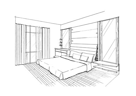 perspective drawing  bedroom  images  point