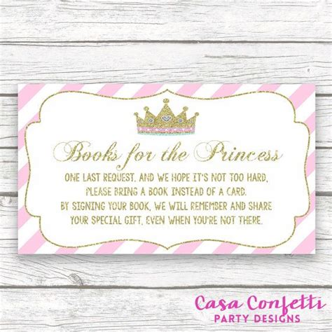 What To Bring For Baby Shower by Bring A Book Instead Of A Card Baby Shower Insert By