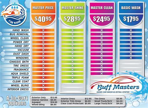 xpress boats price list buff masters car wash hand car wash detailing