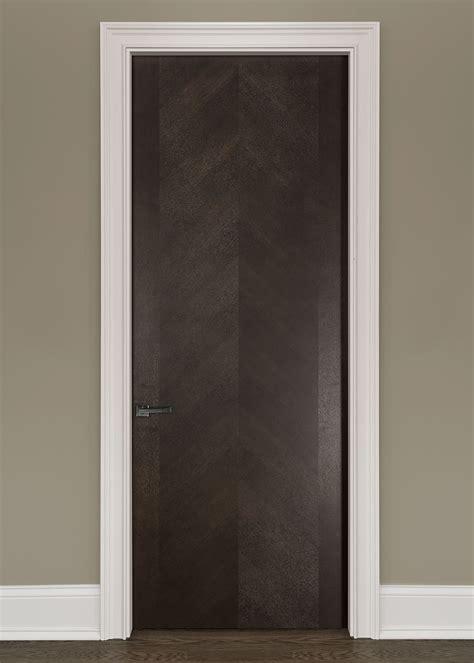 Modern Interior Door Custom Single Wood Veneer Solid Specialty Interior Doors