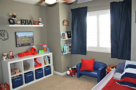 Toddler Boy Bedroom | all things katie marie big boy baseball room