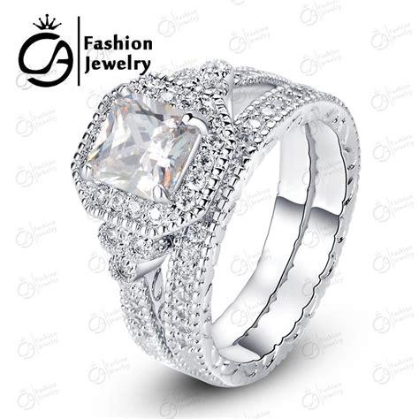 best high quality cubic zirconia wedding ring sets ola