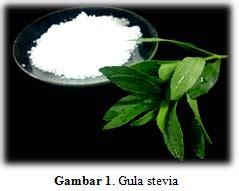 Stevia Penganti Gula Nol Kalori 1 glikosida steviol dan turunannya penyebab rasa manis pada