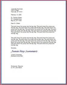 How To Format A Business Letter On Letterhead How To Type A Professional Letter With Pictures Ehow