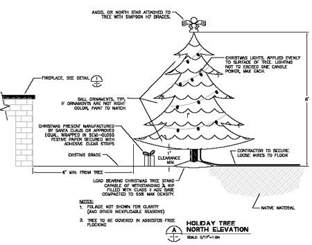 architecturally compliant christmas interactive