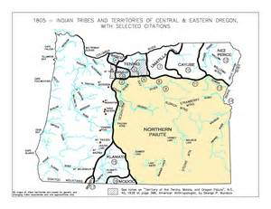map of oregon tribes oregon tribes map swimnova