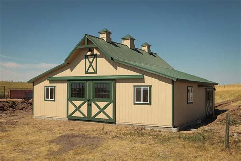 west series modular barns   horse lovers dream