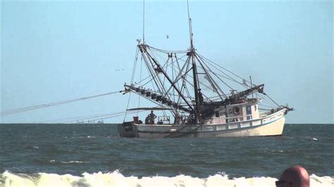 shrimp boat on daytona beach shrimp boat and ocean sounds youtube
