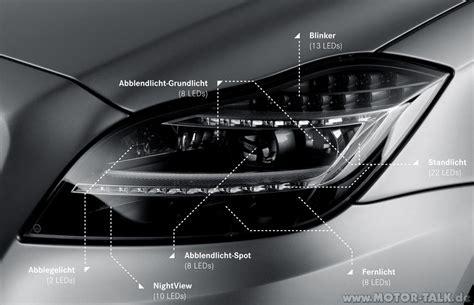 beleuchtung vorne am fahrzeug voll led scheinwerfer vs xenon nachtsichtassistent