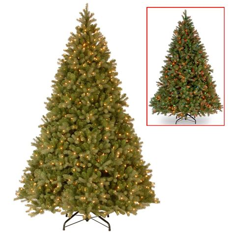 sierra nevada tree artificial home accents 9 ft pre lit led nevada pe pvc set artificial tree