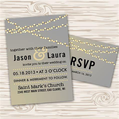 garden lights wedding invitations uk 17 images about lights wedding invitations on
