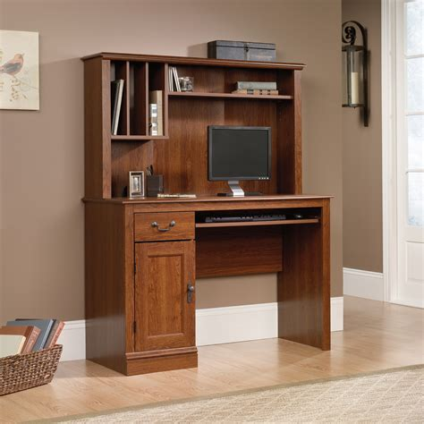 sauder computer desks with hutch camden county computer desk with hutch 101736 sauder