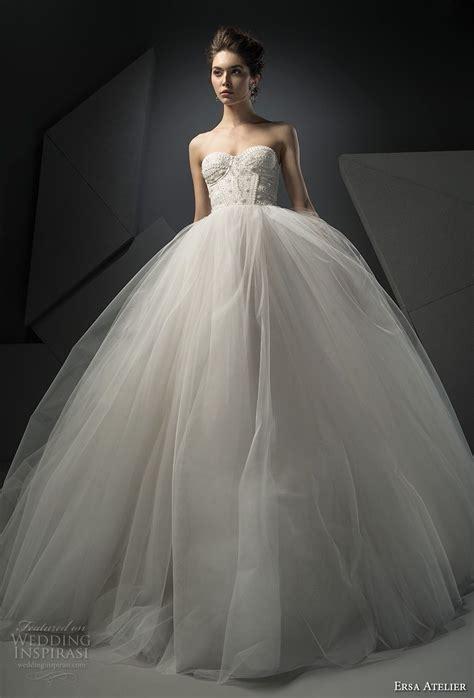 ersa atelier spring  wedding dresses  mist